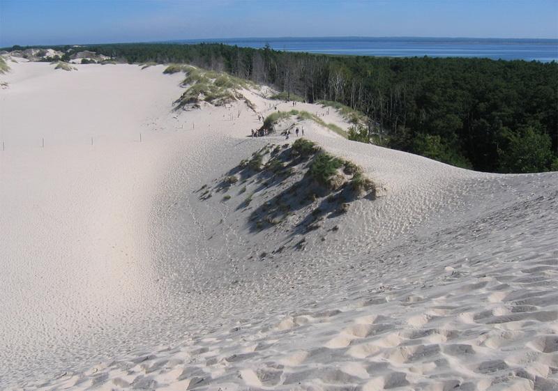 Движущиеся дюны