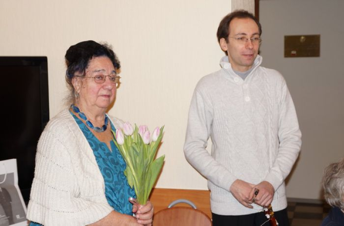встреча блокадников в Польском Доме в Петербурге