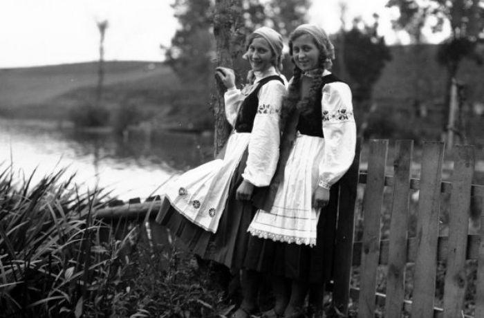 кашубский национальный костюм