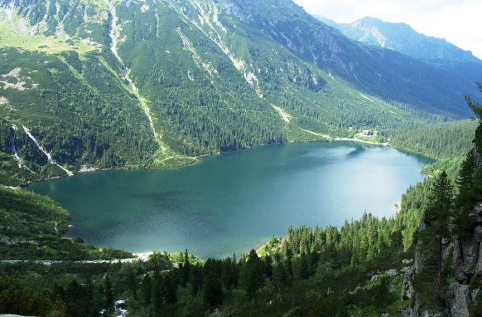 Озеро Морское око Польша