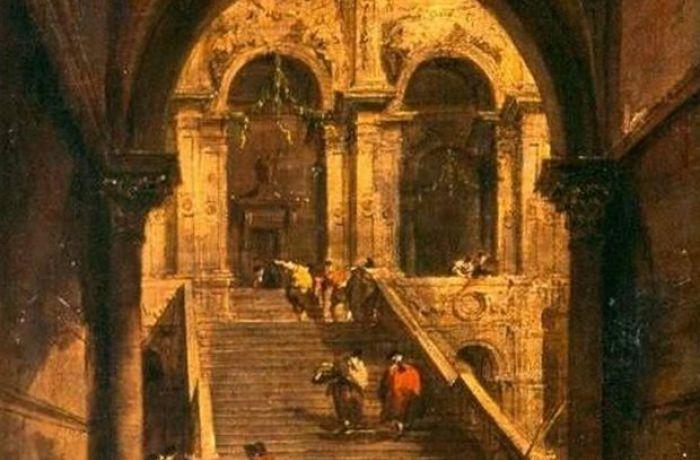Франческо Гварди «Дворцовая лестница»