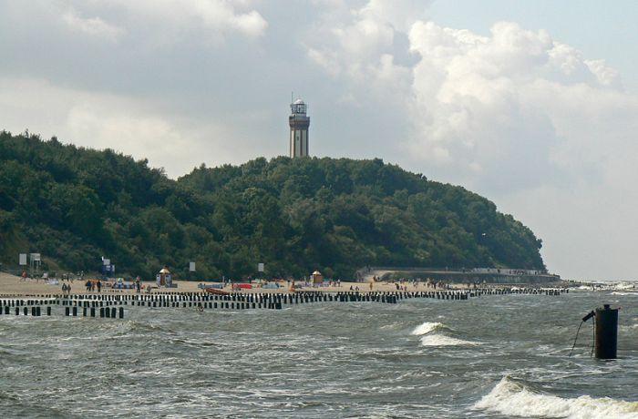 пляжи Польши