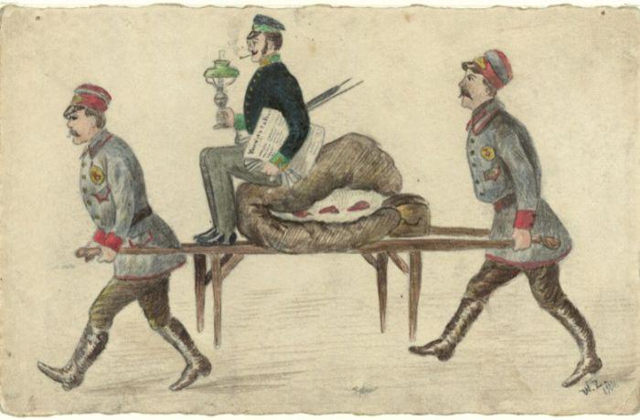«Переезд студента». Władysław Zahorski. 1904
