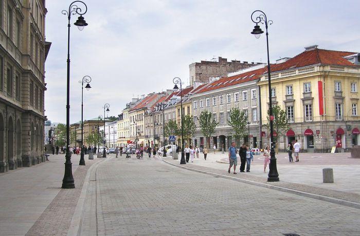 Большинство жителей Варшавы довольны жизнью в своём городе