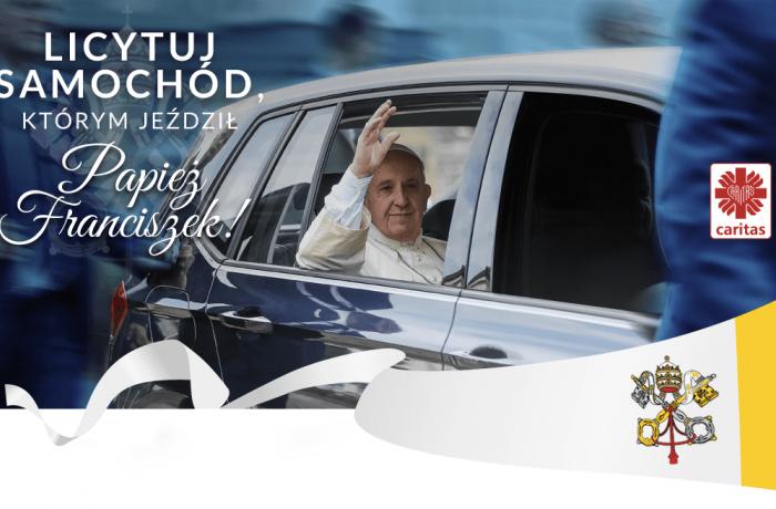 ВПольше выставлены нааукцион автомобили, которыми пользовался папа римский