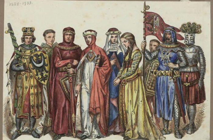 одежда средневековых поляков