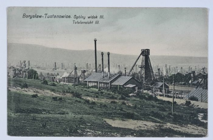Борислав. Общий вид. 1910 год