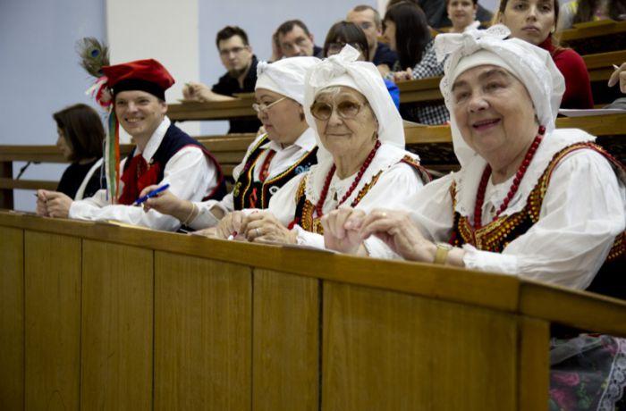 Участники Всероссийского польского диктанта