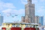 Здании Дворца культуры и науки в Варшаве