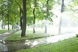 Система автоматического полива в Михайловском саду