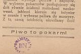 Польская брошюра о пользе пива