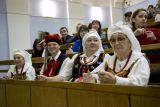 Всероссийский польский диктант-2015. Участники в национальных костюмах - залог праздничного настроения
