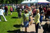 Культурная программа фестиваля собирала толпы посетителей