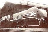 """Польский скоростной паровоз (до 140 км/ч) Pm-36-1, 1937 год. Золотая медаль на Всемирной выставке в Париже. Прозвище - """"Елена Прекрасная"""""""