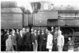Участники успешного испытания паровоза Ol-12, 1920-е годы
