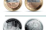 Монеты к 100-летию Варшавского Политехнического института