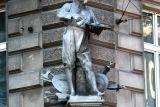 Памятник Ежи Кулчицкому в Вене