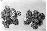 Монеты, найденные в кургане Крака
