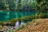 Цветные озёра в Рудавском национальном парке Польша