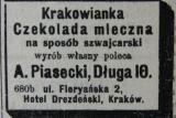 Шоколадная фабрика Пясецкого в Кракове