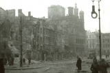 Старая рыночная площадь в Познани, 1945 год