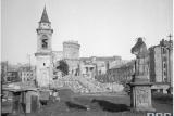 Варшава, Площадь Трёх Крестов, 1945 год