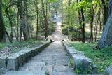 Восстановление стелы на советском военном кладбище Пила-Лешкув