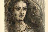 Портрет молодой женщины. Рисунок Норвида