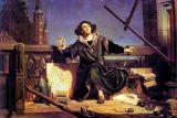"""""""Коперник. Беседа с Богом."""" Картина Яна Матейко, 1872"""