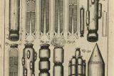 Иллюстрация из книги Казимира Семеновича, показывающая устройство ступеней ракет