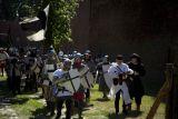 Реконструкция битвы в замке Мариенбург